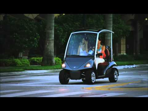 Garia Luxury Golf Car Movie - Street legal golf car
