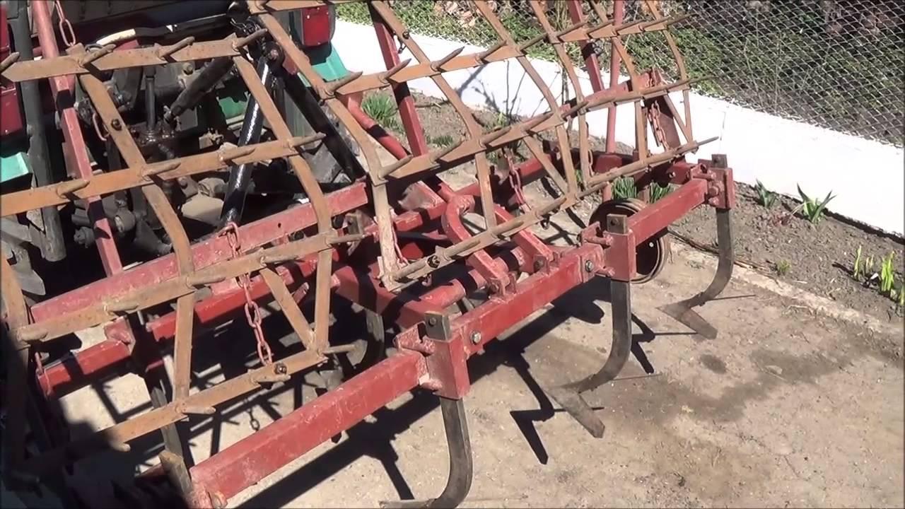 Как сделать культиватор своими руками к трактору