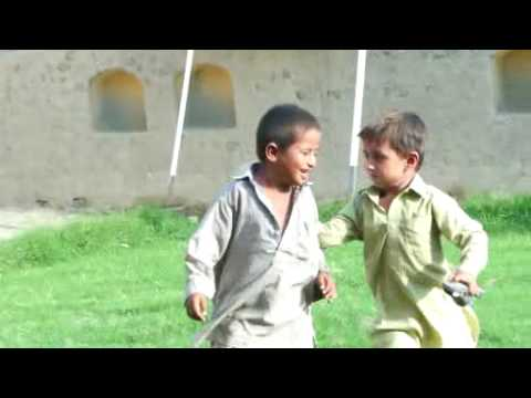 Resettling the Indus Punjab:Ahmed Muhamad wrestling(20th August 2012) :: Kids in Basti playing with each other.