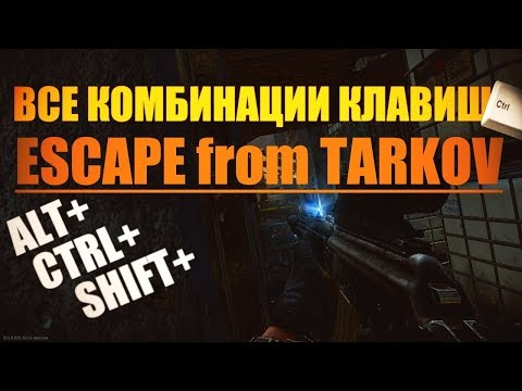 Гайд. Все комбинации Клавиш. Escape from Tarkov.