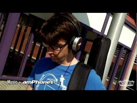 VOX AmPhones-your favorite guitar amp and headphones in one!