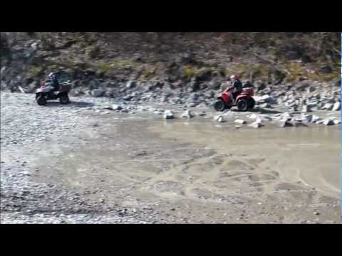 Quading the Fraser River in Chilliwack BC