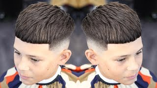 BARBER TUTORIAL: CROP TOP FADE