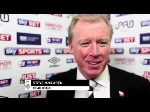 DERBY COUNTY 5-0 WOLVES | Steve McClaren Post Match