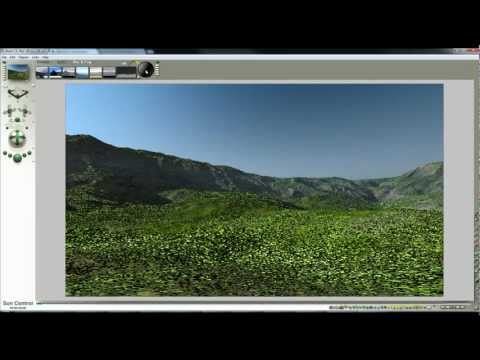 Bryce grass terrains - a 25 minute tutorial by David Brinnen