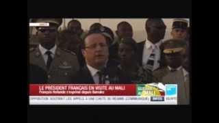 Visite du Président Français au Mali