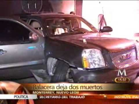 balacera en zona Tec de Monterrey, 2 estudiantes muertos....
