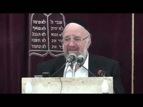 הרב ברוך רוזנבלום - פרשת חיי שרה ה׳תשע״ט