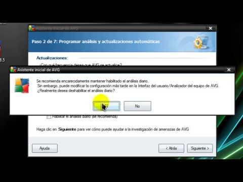 Como descargar e instalar AVG Antivirus Free