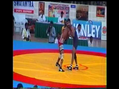 YOGESHWAR DUTT & KRIPA SHANKAR WRESTLING 32nd National Games