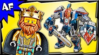Lego Nexo Knights KING'S MECH 70327 Stop Motion Build Review