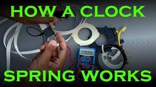 Clock Spring Replacement - Toyota / Lexus