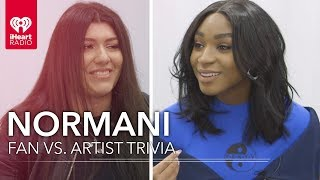 Download Lagu Normani Challenges Super Fan In Trivia About Herself | Fan vs. Artist Trivia Gratis STAFABAND