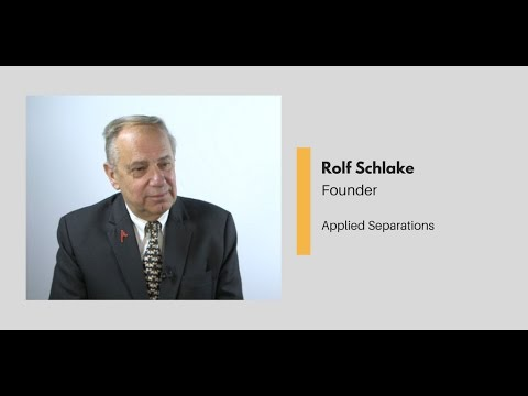 What Chemists Do - Founder, Applied Separations Inc.