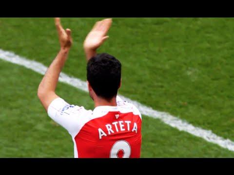 Mikel Arteta - Goodbye Captian & Thanks