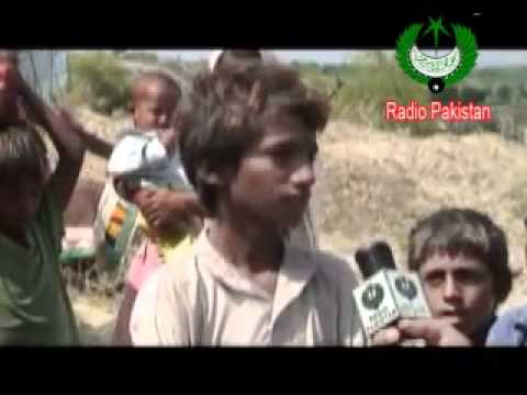 Sindh Flood - Flood Victims In Achhrothar, Khipro (report) 2011.flv video