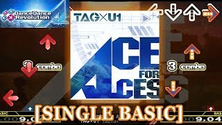 【DDR A】 ACE FOR ACES [SINGLE BASIC] 譜面確認+クラップ
