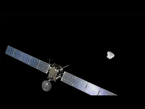 Rosetta Spacecraft Closes In on Comet
