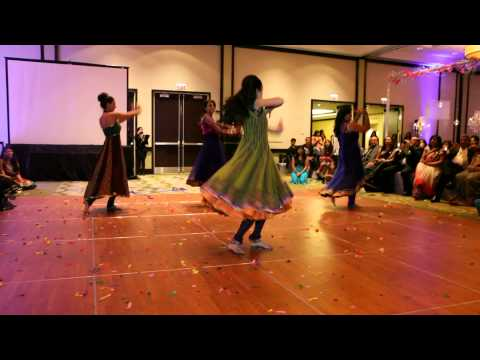 Shivanee & Vikram - Wedding Reception Cousins Bollywood Dance...