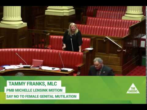 Michelle Lensink Motion Say No to Female Genital Mutilation thumbnail