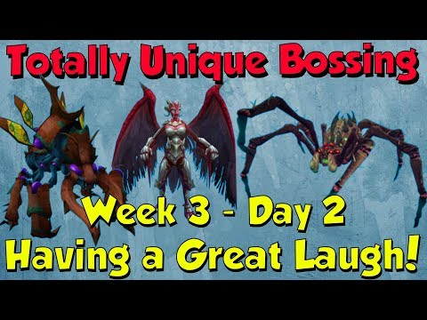 Week 3, Day 2 - Having so much Fun!! [Runescape 3] Totally Unique Bossing #16