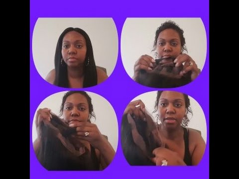 How to tutorial   Elastic Band Method for Full Lace Wigs