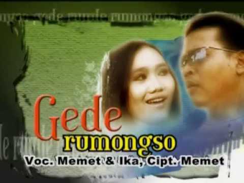 Gede Rumongso - Memet feat Eka (Official Music Video)