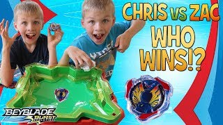 Twins Spinning Tops Challenge