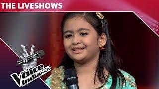 Shekinah Mukhiya Performs On Nachde Ne Saare The Voice India Kids Episode 25