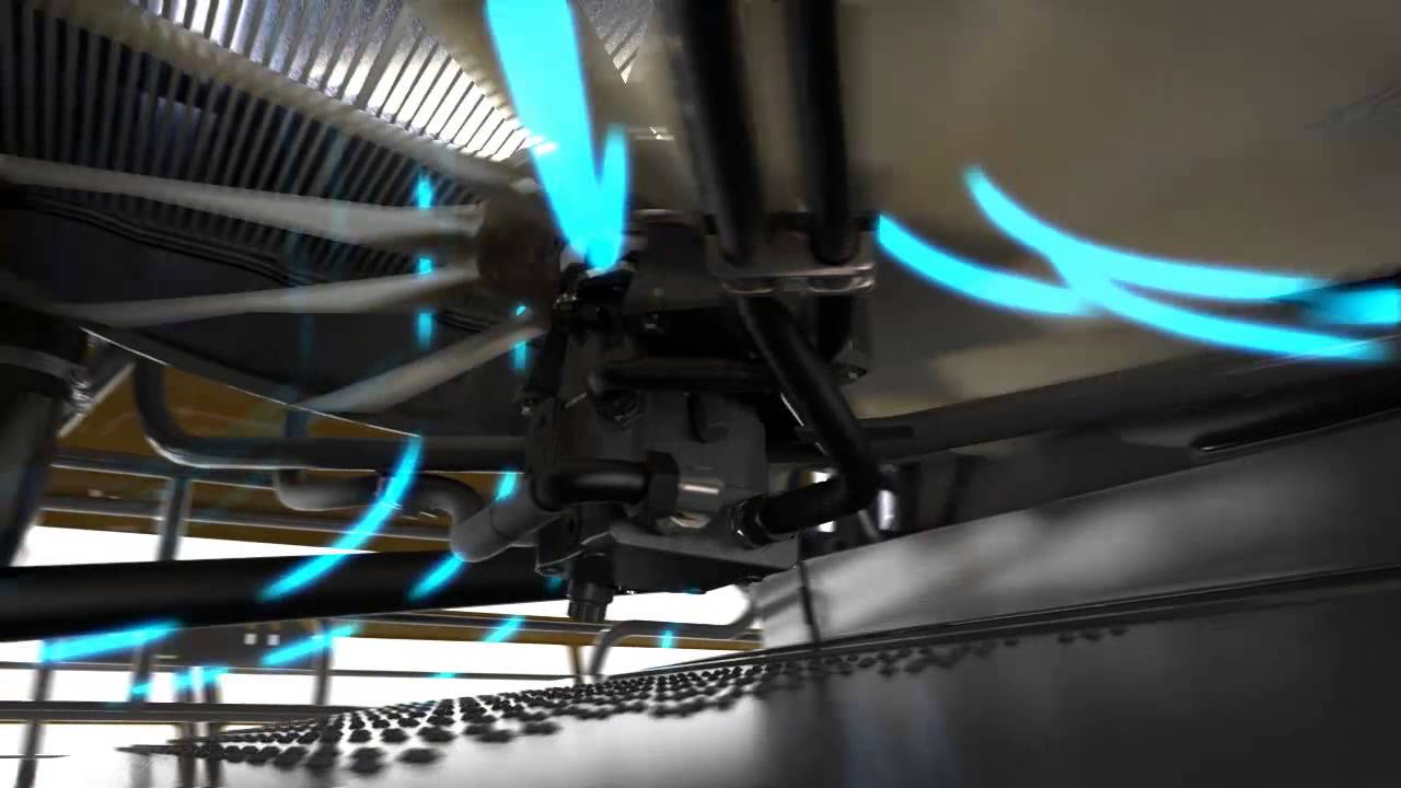Cooling Unit Animation : Lexion dynamic cooling system animation youtube