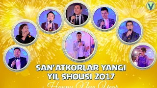 San'atkorlar yangi yil bazmi 2017   Санъаткорлар янги йил базми 2017