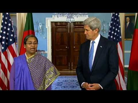 Secretary Kerry Delivers Remarks With Bangladeshi Foreign Minister Moni