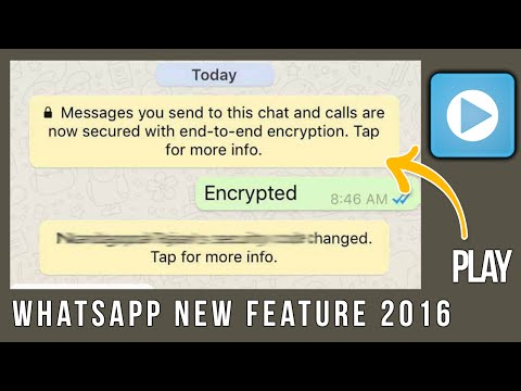 Whatsapp Encryption - Whatsapp New Feature End-to-End Protection 2016