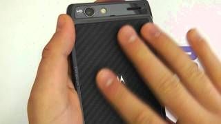 Motorola RAZR (XT910) Android Smartphone Hardware Tour
