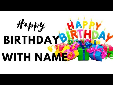 How to Make Birthday song in hindi | Happy Birthday Song With Name | Download Birthday song for name