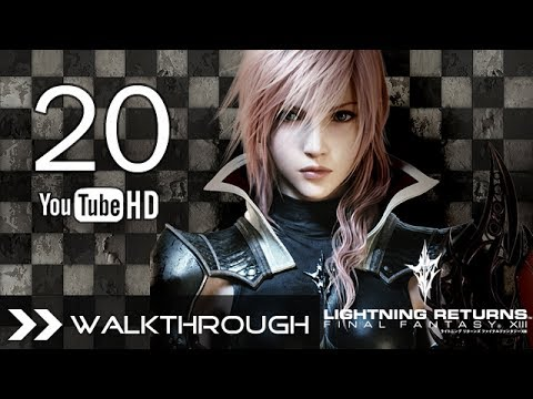 Lightning Returns Final Fantasy XIII Walkthrough Gameplay - FF13-3 Part 20 (A Solitary Patron - Snow Villiers Boss Fight) HD 1080p PS3 English Dub No Commentary