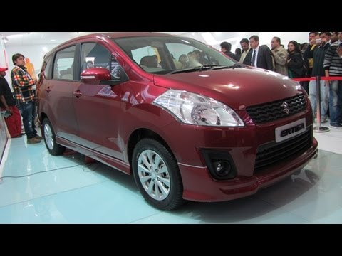 Maruti Ertiga Walkaround Video