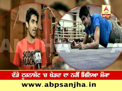 Vijender Singh talks about his preparations for Commonwealth Games 2014