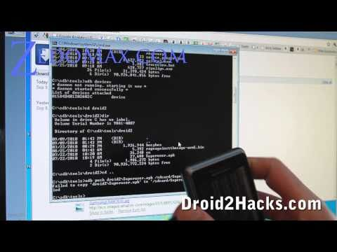 Droid 2 Hacks - How to Root Droid 2!