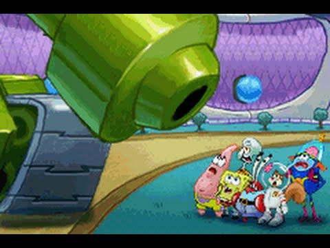 SpongeBob's Atlantis SquarePantis GBA Walkthrough Part 9-Final Boss