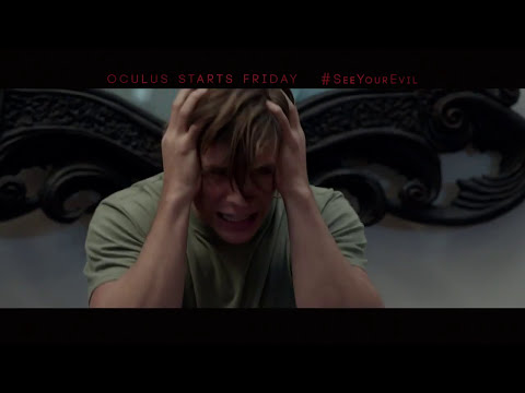 Oculus TV SPOT - Nightmare Friday (2014) - Karen Gillan Horror Movie HD