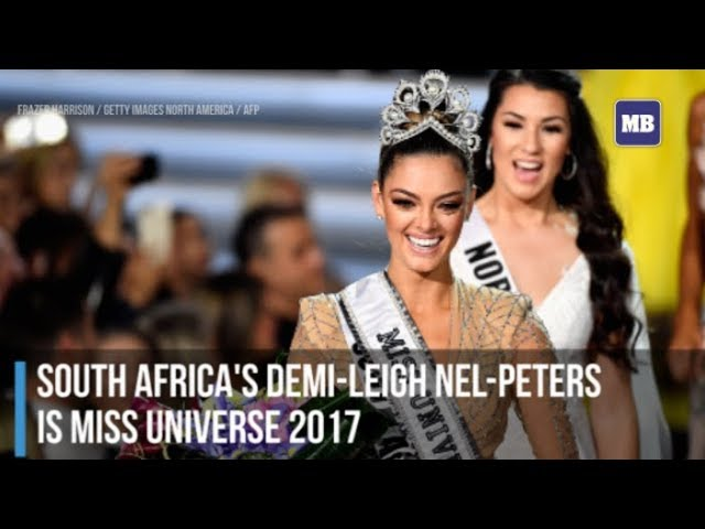 South Africa's Demi-Leigh Nel-Peters  is Miss Universe 2017
