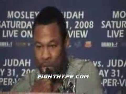 WAR OF WORDS AT MOSLEY-JUDAH PRESS CONFERENCE
