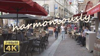 Nantes, Morning Walk through Old City - France 4K Travel Channel