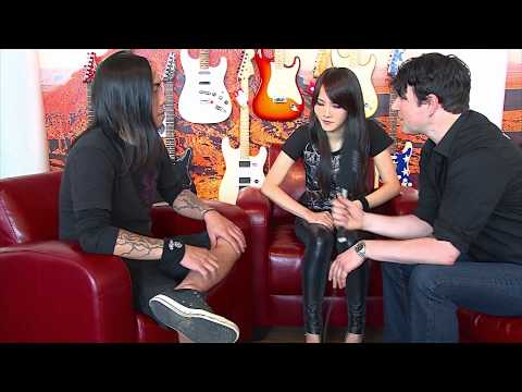 CHTHONIC visits Europe's biggest MUSIC STORE