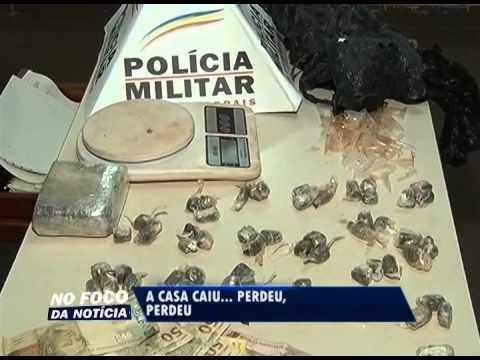 Suspeitos de tráfico no Dom Almir são detidos com meio quilo de maconha e cocaína