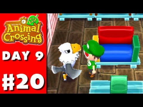 Animal Crossing: New Leaf - Part 20 - Flea Market (Nintendo 3DS Gameplay Walkthrough Day 9)