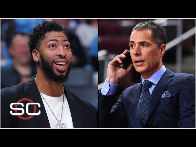 Anthony Davis to Lakers is one of the biggest trades in NBA history - Ohm Youngmisuk | SportsCenter thumbnail