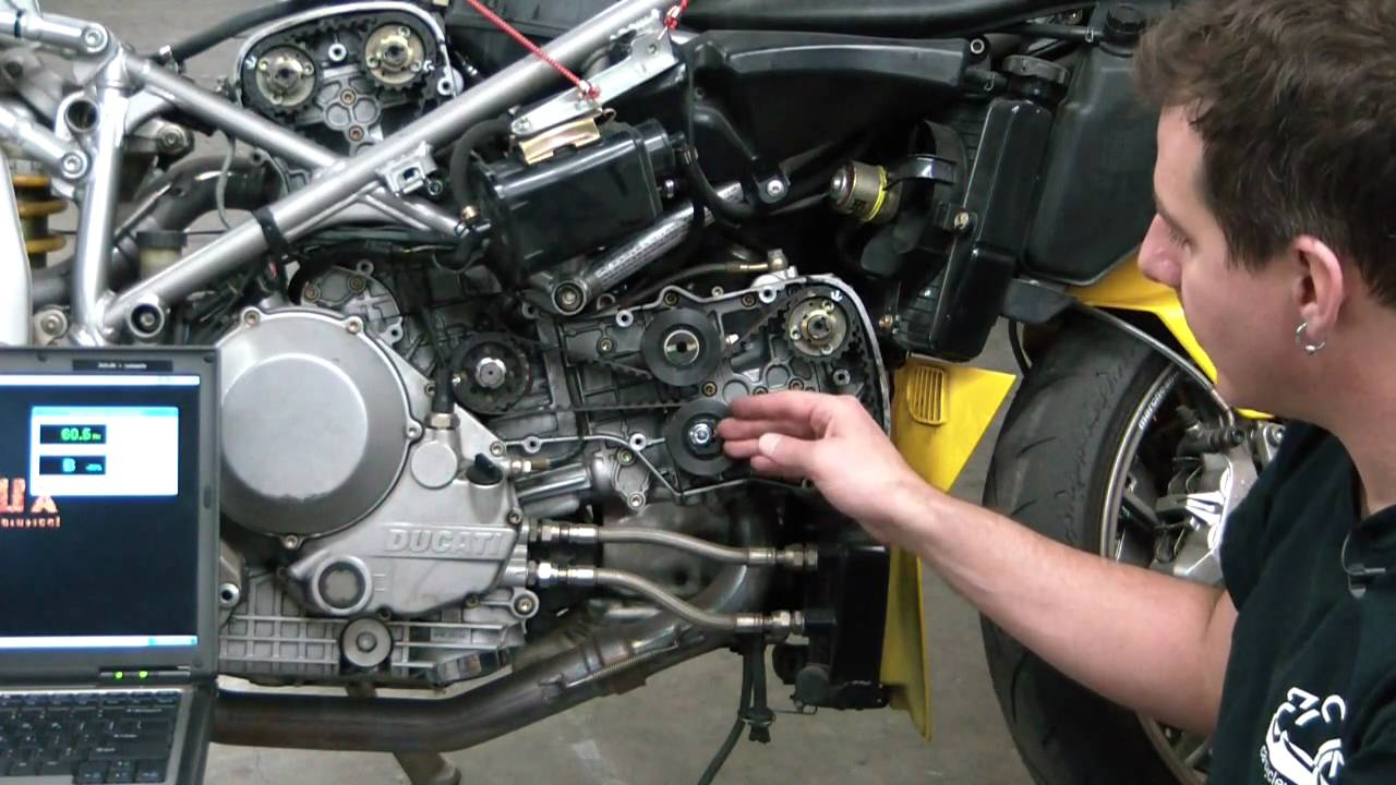 Ducati Monster Oil Change