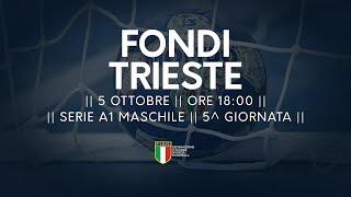 Serie A1M [5^]: Fondi - Trieste 24-22